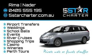 Driver with child car seats , Small charter vechile Southern River Gosnells Area Preview