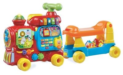 VTech Alphabet Train Sit Stand Learning Educational Toys for Toddlers Blocks New