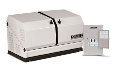 Champion 100174 8.5kw Standby Power Backup Generator Lp Propane Ng Ats Nema 1