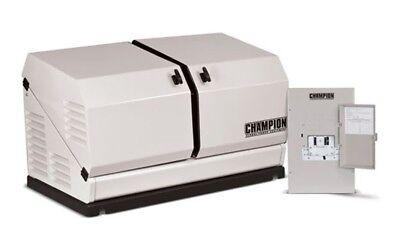 Champion 100174 8.5kw Standby Power Backup Generator Lp Propane Ng Ats Nema 1