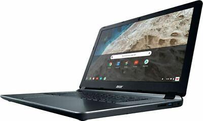 """Acer 15.6"""" HD Chromebook,Intel Celeron N3060,4GB RAM,16GB eMMC,HDMI,WiFi Gray HP"""