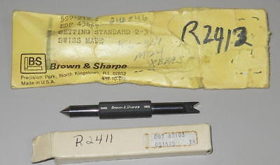 New Brown And Sharpe Setting Standard .060 3.0003 599-212-2 Set Screw