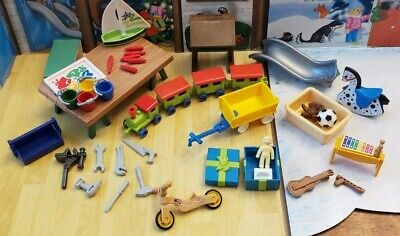 Playmobil 2019 Advent Calendar 9264 Santa's Workshop Workshop Presents Toys Lot