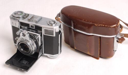 Zeiss Ikon Contessa 35 w/Opton-Tessar Lens - Very Nice