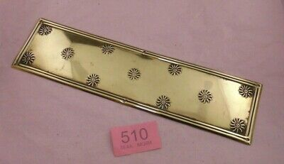 Brass  Door Finger Plate 510