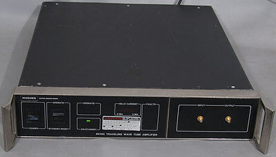 Hughes 8010h8010h04f000 Twttwta Traveling Wave Tube Amplifier 10w 12.4-18.0ghz