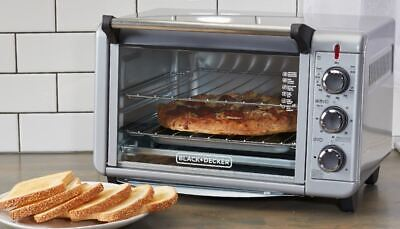 Best Countertop Convection Oven Stainless Steel Baking Cooking Small New (Best Counter Top Convection Oven)