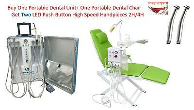 Dental Portable Chairdental Unit Air Compressorscalercuring Lightwatersystem