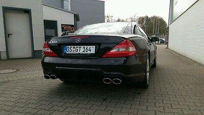 Mercedes SL R230 500 350 Sportauspuff Auspuff Endschalldämpfer Duplex 4 Rohr Amg