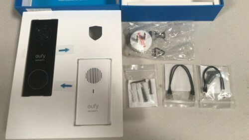 Eufy T8200 Security Wi-Fi Video Doorbell 2K Resolution Real Time