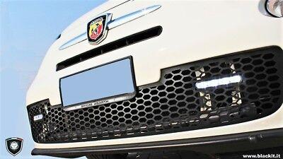 FIAT 500 500C ABARTH 2008-2015 Centro Griglia Anteriore sezione superiore alta qualità