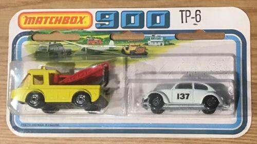 1978 Matchbox TP-6 No.74 Toe Joe  No.15 Volkswagen 1500 Saloon England RARE