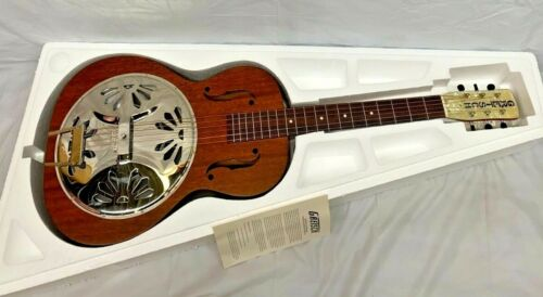 NEW Gretsch G9200 Boxcar Round Neck Resonator Guitar