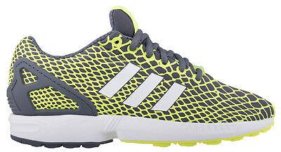 Adidas ZX FLUX Tech Fit Herren  Sneaker Turnschuhe Gelb/Schwarz  Textil  B24934 ()