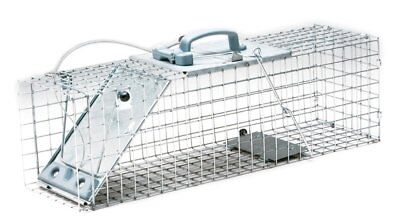 Havahart 1084 Easy Set One-Door Cage Trap for Rabbits, Skunks, Minks and Large
