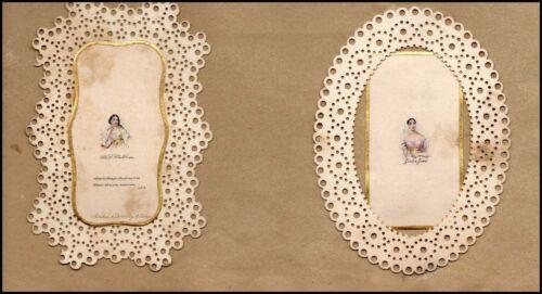 MALIBRAN and GRISI (Opera): Stunning Miniature Portraits!