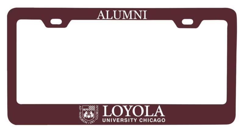 Loyola University Ramblers License Plate Frame Alumni