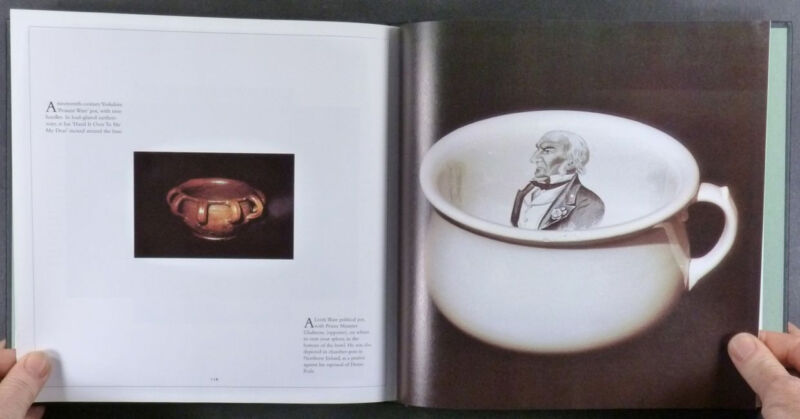 Book: Chamber Pots - Antique Porcelain & Pottery from Roman to Victorian Times
