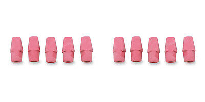 Integra Pencil Cap Eraser For Standard Pencils 144 Per Box Pink 2 Packs