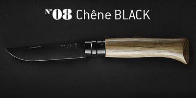 Couteau Pliant Opinel n°8 Chêne Black - Opinel Nouveau!