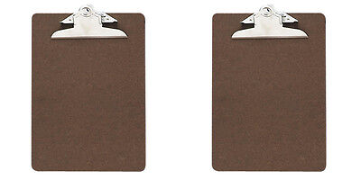 Officemate Recycled Wood Clipboard Memo Size 6x9 3 Clip 2 Packs