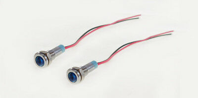 2 Pack Procraft 6mm 115v Led Indicator Lamp Blue  6zsd.x-115-b