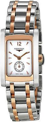 L5.155.5.18.7 | BRAND NEW LONGINES DOLCEVITA WOMEN'S ROSE GOLD & STEEL WATCH