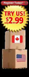 Get your U.S. Address at Canam Parcel, Save Hundred$ per year!