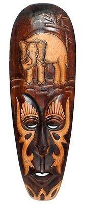 nd Maske Elefant Holz Tier Afrika Maske45.50 (Elefant Maske)