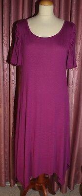 MILLA  aus Dänemark ♥ Viskose Kleid ♥ Gr. XL ♥ *NEU* ♥ zyklam ♥ beeren FARBEN ♥