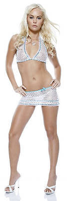 Forplay Sexy Miami Vice 3 Pc Lingerie Clubwear Set - Miami Vice Outfits