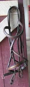 Full size leather bridle for sale - no reins or bit