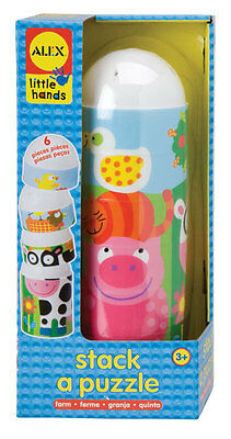 Alex Toys Stack a Puzzle Farm - BRAND NEW