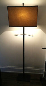 Gorgeous Large Cast Iron Floor Lamp