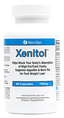 Xenitol - Carb Fat Blocking Fat Burning Appetite Suppressant Pill Free Shipping!