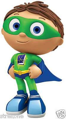 SUPER WHY! Readers Childrens TV Show character - Window Cling Decal Sticker -NEW
