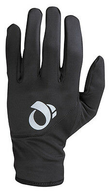 Pearl Izumi Thermal Lite Full Finger Bike Cycling Gloves - Black - Small