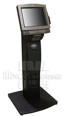Ncr 7401-2691 Complete Kiosk With Fixed-angle Mount Printer Stand