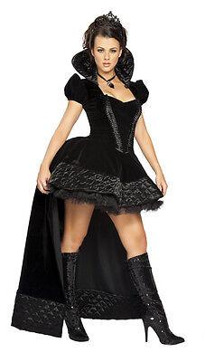 DÉGUISEMENT DE REINE SORCIÈRE VAMPIRE GOTHIQUE COSTUME CARNAVAL HALLOWEEN - Kostüm Sorciere Halloween