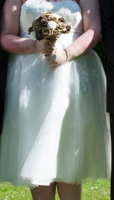 Callista designer Size 22 Tea Length Ivory Wedding dress | in ...