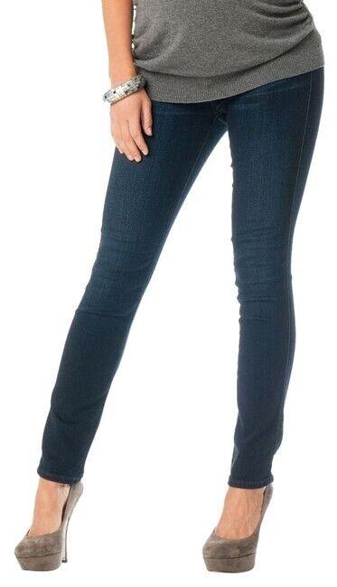 $218 AG Adriano Goldschmied Maternity Legging •28• Dark Wash Super Skinny Jeans