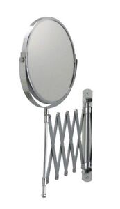 IKEA Mirror Extendable Magnifying FRACK Makeup Shaving Wall Mount