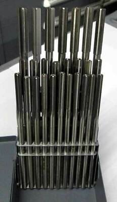26 Pc. Made In Usa A To Z Letter Hss Straight Flute Reamer Set Wmetal Index