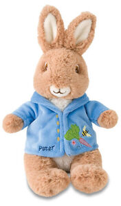 Kids Preferred Plush Beatrix Potter Mini Peter Rabbit Kid Play Toy NEW!