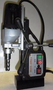 NEW PORTABLE MAGNETIC DRILL PRESS AND ANNULAR SET 2600 LBS