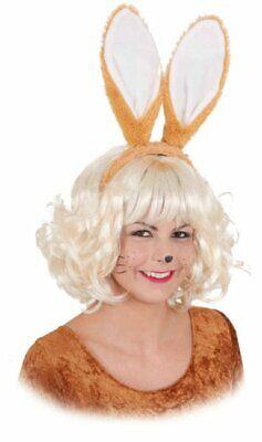 Hasenohren Hase braun Ostern Bunny Karneval Fasching - Braun Hasenohren Kostüm