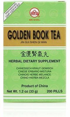Min Shan, Jin Gui Shen Qi Wan, Golden Book Teapills, 200 ct (Jin Gui Shen Qi Wan)