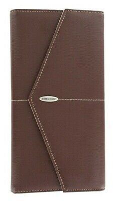 Rolodex Business Card Book Brown 96 Card Capacity New