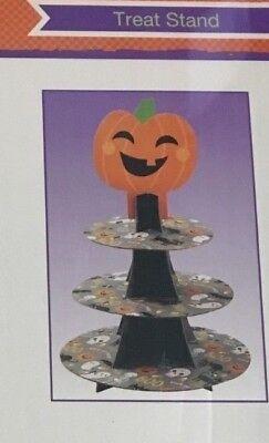 Halloween Pumpkin 3 Tier Treat Cupcake Stand by Wilton  - Wilton Halloween Cupcake Stand