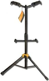 Hercules double guitar stand new condition